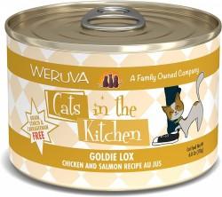 Weruva Cats in the Kitchen 罐裝 Goldie Lox 走地雞+三文魚 美味肉汁 170g