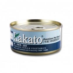 Kakato 卡格 雞, 吞拿魚, 蔬菜 Chicken, Tuna & Vegetables 170g