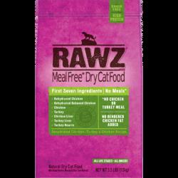 Rawz無穀物低溫烘焙脫水雞肉, 火雞肉及雞肉貓糧 7.8lb x4包優惠