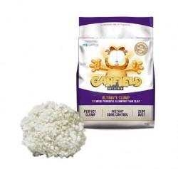 Garfield Cat Litter-加菲貓凝結貓砂-粗顆粒可沖廁 玉米+木薯 (紫) 10Lb