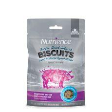 Nutrience (凍乾外層-鮮豚肝) 豚肉、蘋果 成犬曲奇 135g