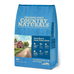 Country Naturals 鴨肉鯡魚全犬種配方 Duck Meal & Sweet Potato ENTRÉE 4磅