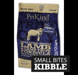 PetKind 單一蛋白 無穀物 羊肉+羊草胃 配方 25lb (細粒裝)