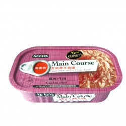 Main Course全營養主食罐-雞肉+牛肉 x12罐優惠