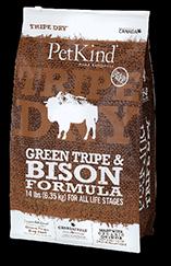 PetKind 無穀物 野牛肉 配方 25lb 到期日: 5/10/2020
