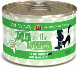 Weruva Cats in the Kitchen 罐裝 Lamb Burgini 羊肉 美味肉汁 170g