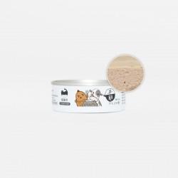 喵皇奴 貓主食罐 - 台灣雞肉+巴拉圭牛肉 80g