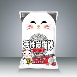 Akane 活性炭 強力除臭貓砂 7L x 7包原箱優惠