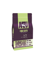 AATU 80/20/0 無穀物 走地鴨肉低敏天然貓糧 1kg