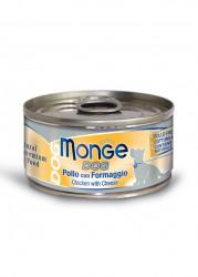 Monge  雞加芝士狗罐頭 95g x24罐