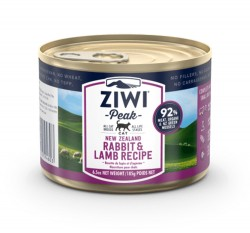 ZiwiPeak巔峰 92%鮮肉貓罐頭 - 兔羊配方 185g