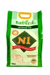 N1 粟米豆腐貓砂17.5L(原味) 2.0幼條砂 x3包優惠  (共一箱)