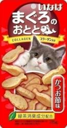 INABA QSC-204 雞肉小魚燒貓小食 - 鰹魚節味 25g