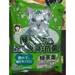 QQ Kit 綠茶味紙貓砂 7L