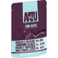 AATU  全配方貓濕糧包 雞+野雞 85g