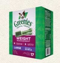 Greenies 潔齒骨 體重管理系列 - 大型犬 27oz (17支/包)