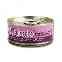 Kakato 卡格 雞, 牛肉絲 Chicken & Beef Julienne 70g