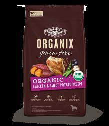 ORGANIX 無穀物全犬糧 – 有機雞肉甜薯配方 18lb