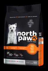 North Paw 成犬無穀物乾糧 羊肉-火雞 (黃色) 25磅