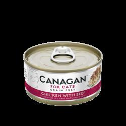 Canagan 原之選 雞肉+牛 配方 75g
