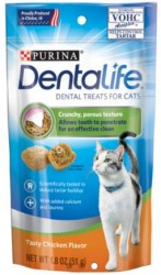 PURINA DENTALIFE CAT TREATS 貓潔齒餅 雞味 1.8OZ