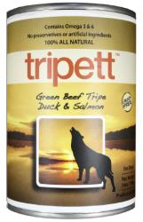 PetKind Tripett 無穀物狗罐頭 - 牛肉, 鴨肉及三文魚肉配方 14oz