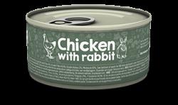 Naturea 無榖物鮮肉貓罐頭 - 雞肉+兔肉 80g x12罐優惠