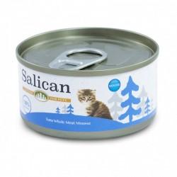 Salican 挪威森林 白肉吞拿魚慕絲 幼貓罐頭  85克