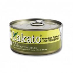 卡格 Kakato Chicken & Vegetables 雞, 蔬菜 170g