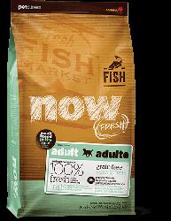 NOW FRESH!™ 小型犬種 無穀物成年魚肉狗糧配方 (鱒魚+三文魚+希靈魚) 25磅