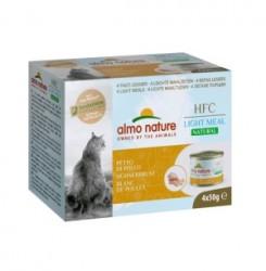 Almo Nature Light 雞胸 貓罐頭 50g x4罐