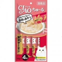Ciao SC-143 吞拿魚+三文魚醬 14g (14g x4)  x2包優惠