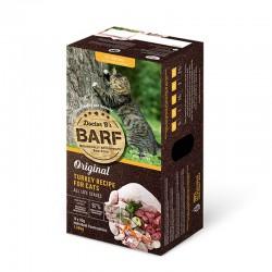 Dr. B 急凍火雞肉貓糧 3lb (12片) x4盒優惠