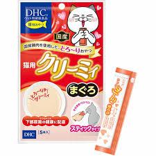 日本DHCペット 貓小食 吞拿魚醬  尿道健康配方 (10g x 5條) x2包優惠