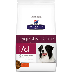 [凡購買處方用品, 訂單滿$500或以上可享免費送貨]  Hills Prescription Diet i/d Digestive Care (原粒) 腸胃處方狗糧 17.5磅