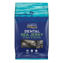 Fish4Dogs 純魚皮薄片  Sea Jerky Skinny Strips  100g