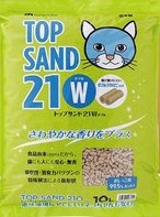 Top Sand 21w 有機 雙孔 通心豆腐貓砂 10L x4包