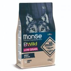 Monge 低穀物 野生鵝肉配方 成犬乾糧 2.5Kg