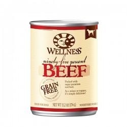 Wellness 95% 鮮牛肉﹙無穀物﹚ 狗罐頭 13.2oz  到期日: 05/2021