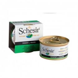 Schesir  吞拿魚及海藻飯  啫喱 貓罐頭 85g