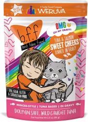 b.f.f 吞拿魚+三文魚 袋裝系列 85g (Sweet Cheeks)