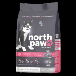 North Paw 無穀物 雞肉+海魚 全貓糧 2.25kg x2包優惠