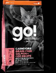 Go! CARNIVORE 活力營養系列 無穀物三文魚鱈魚 貓糧 3磅