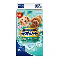 日本Unicharm消臭大師】森林香狗尿墊 M(84片/包) 44 X 32cm