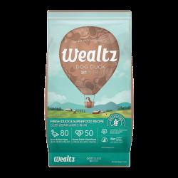 Wealtz 全年齡犬配方 - 鮮鴨肉、超級食物食譜 (杏色) 2.1Kg