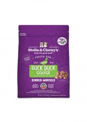 Stella & Chewy's 冷凍生肉貓糧 - 鴨朋鵝友(鴨肉及鵝肉配方) x4包優惠