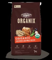 ORGANIX 穀物全犬糧 – 有機雞肉燕麥片配方 4lb