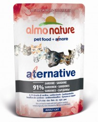 Almo Nature Alternative 沙丁魚 濕貓糧 55g