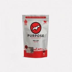 Purpose 凍乾牛肝小食 (貓狗共用) 3oz 到期日:04/Sept/2021