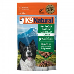 K9 Natural 凍乾鮮肉佐餐品 羊肉 142g
